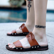 Men's Summer Sandals Outdoor Beach Casual Soft Shoes Slippers 127112