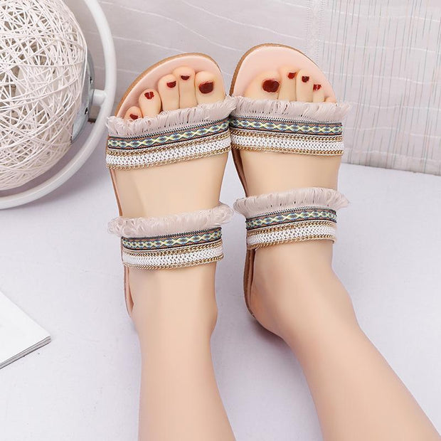 Women Spring and Summer Comfort Slippers 128212