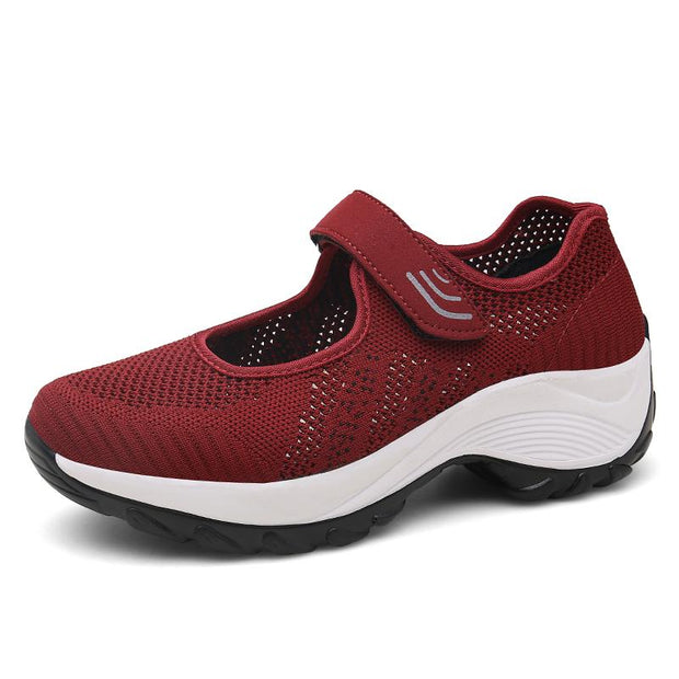 Women's Outdoor Breathable Light Flying Knit Non-slip Sneakers
