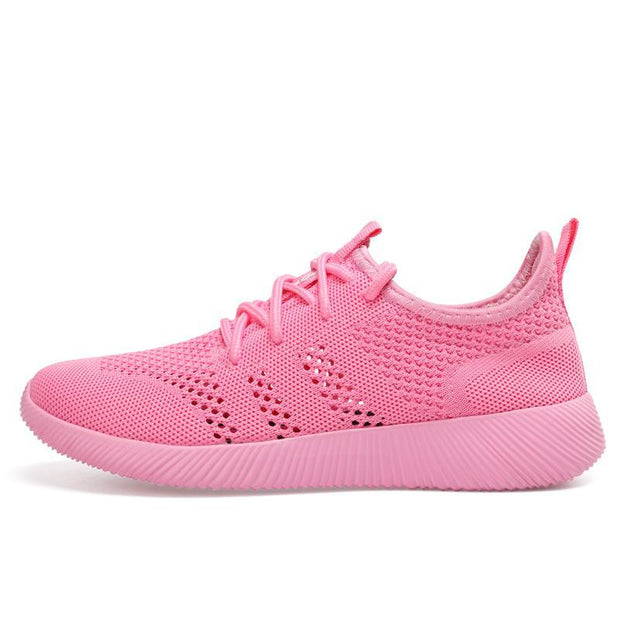 Women's Lightweight Athletic Running Shoes Walking Casual Sports Knit Workout Sneakers  126012