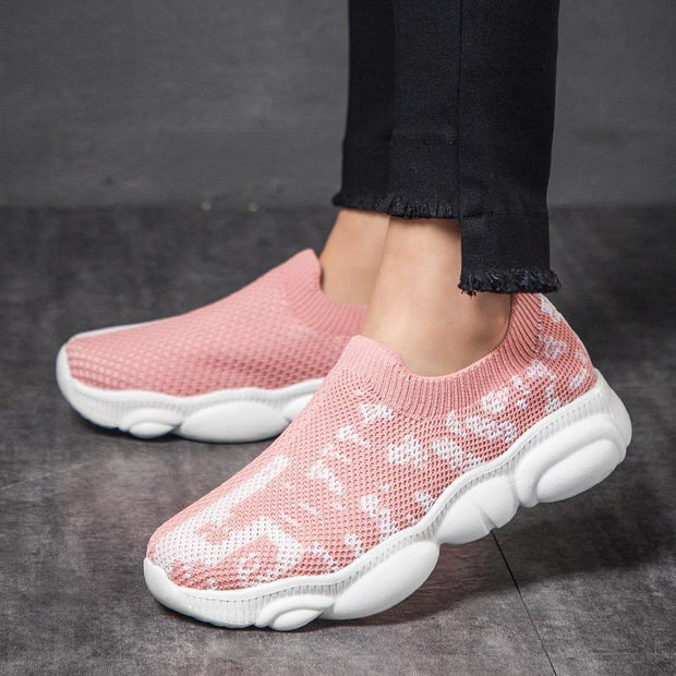 Women's comfortable breathable sneakers 128848