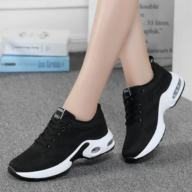 Women's casual sports running breathable fitness shoes 128376