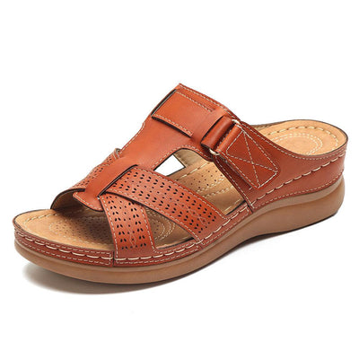 Women's Summer Open Toe Hook Loop Casual Sandals
