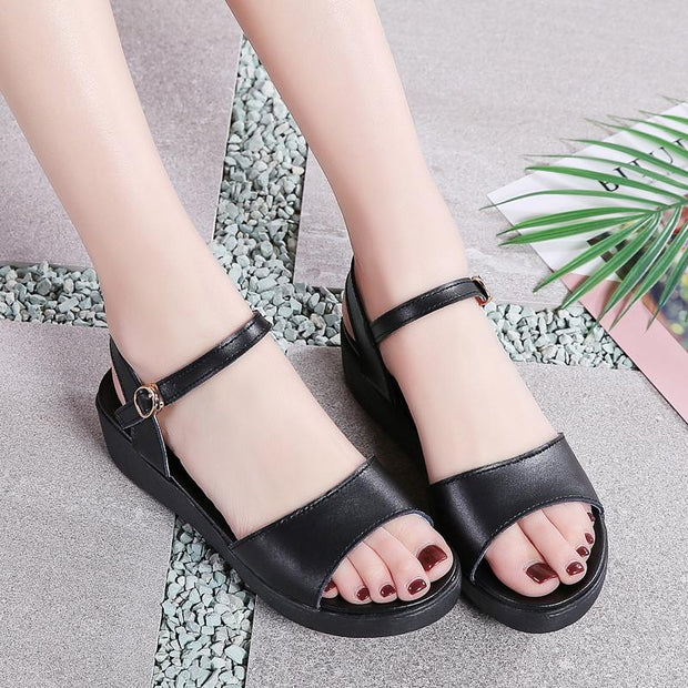 Women's fashion trend comfortable slip wear sandals 124277