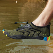 Men River shoes five fingers swimming shoes outdoor wading beach shoes diving shoes fitness shoes 119610