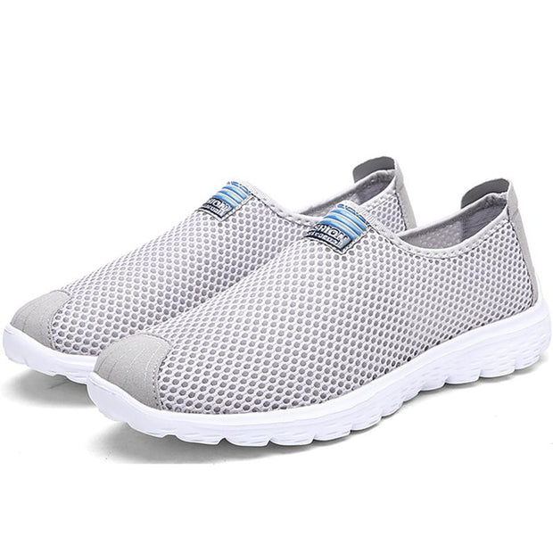 Men's Shoes Sneakers Csual Shoes Breathable Flats Mesh Running Sapato Size