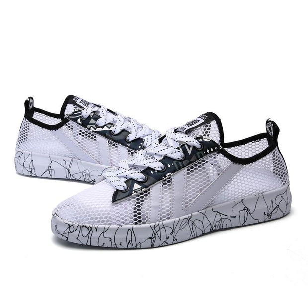 Women's casual and comfortable fashion breathable hollow sports shoes 129802