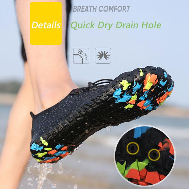 Water Shoes Barefoot Quick-Dry Aqua Socks for Beach Swim Surf Yoga Exercise  129834