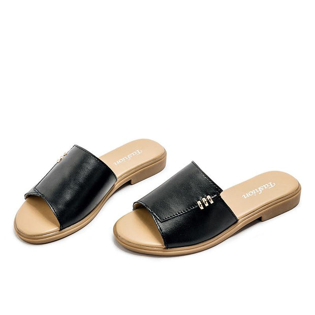 Women's fashion summer comfortable slippers 129127