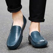 Men's Fashion Summer Outdoor Cowhide Casual Shoes Non-Slip And Wear-Resistant Soles 128402