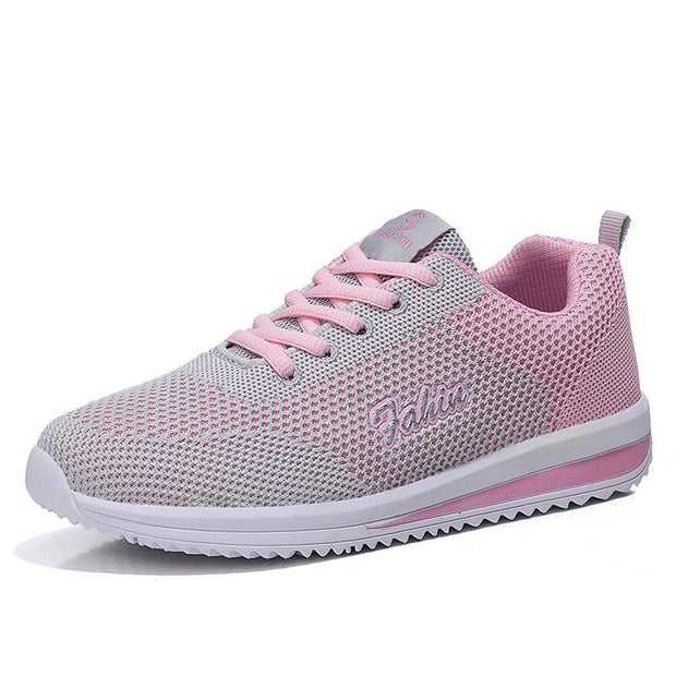 Women's casual fashion comfortable breathable flying sneakers 129684