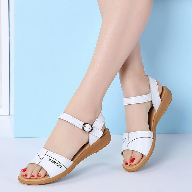 Women's Summer Non-Slip Sandals Casual Shoes Flat Shoes 129839
