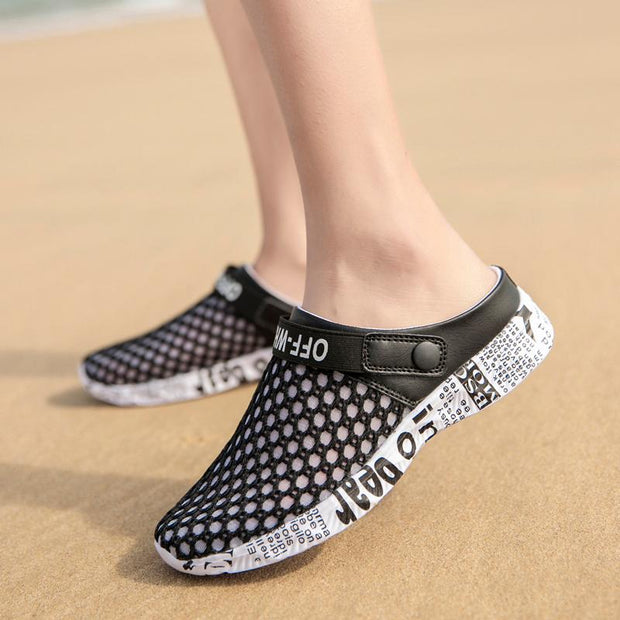 Women's fashion casual and comfortable hole slippers 130619