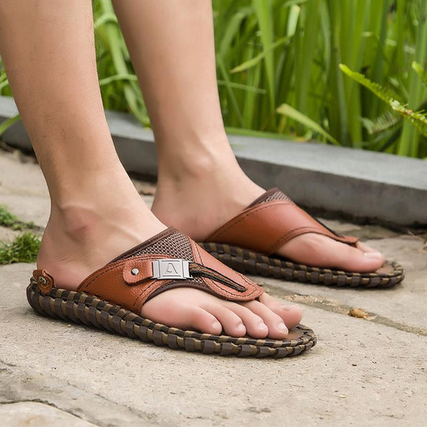 Men's summer fashion comfortable flip-flops 129626