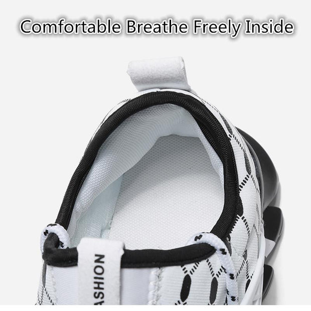 Men Summer Outdoor Sports Casual Shoes Blade Fashion Breathable Running Sneakers Shoes 128984