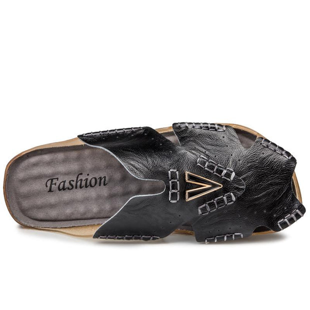 Men's comfortable casual slippers sandals 129161