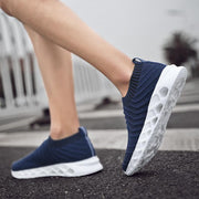 Men's breathable knit shoes 128687