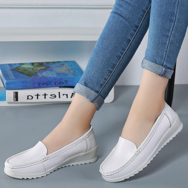 Women's fashion comfortable breathable casual shoes white shoes 130030