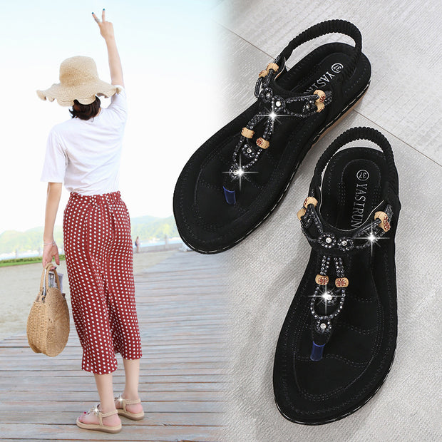 women's shoes bohemian casual sandals women's cross-country large size 131016