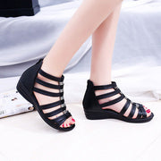 Women Leisure Wedge Heels Sandals 131053