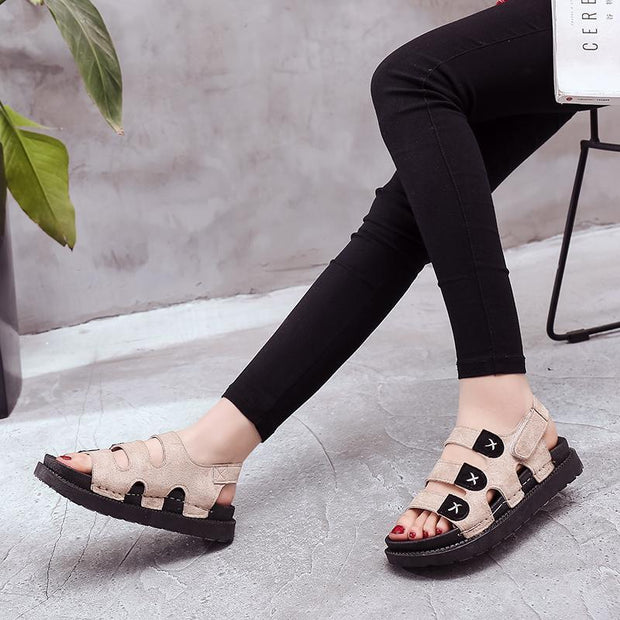Women  Hiking Sandals Athletic Comfortable Flat Shoes Casual Walking Outdoor Beach Sport 130943