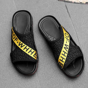 Men's Summer Fashion Printed Individual Slippers 131270