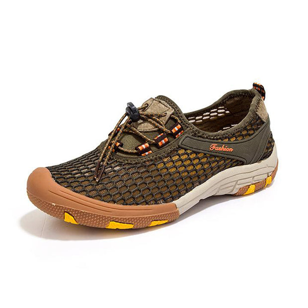Men's Individualized Outdoor Mesh Breathable Soft Sneakers Shoes