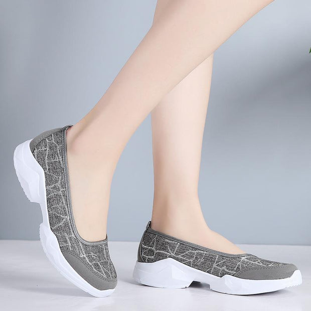 Women Summer Casual Slip-on Big Size Sport Loafers Shoes