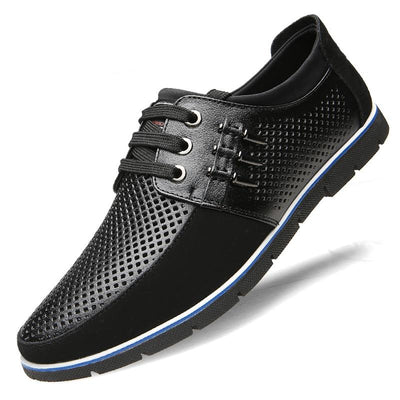 Men's Casual Genuine Breathable Leather Shoes(Second -30% by code:BTS30)