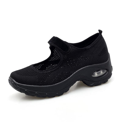 Women's Breathable Large Size Non-slip Flying Woven Shoes