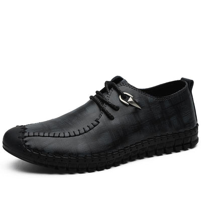 Men's Summer Lace Up Casual Big Size Dress shoes