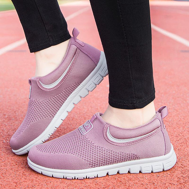 Women autumn and winter in the elderly walking shoes slip soft soles health shoes 117524