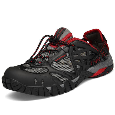 Men's Breathable Outdoor Sports Quick-drying Traceable Sneaker Shoes(Second -30% by code:BTS30)(Buy 3 Get $10 Off By Code:  BUY3)