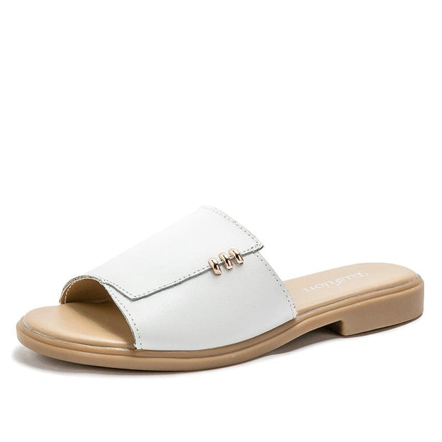 Ladies summer casual flat comfort