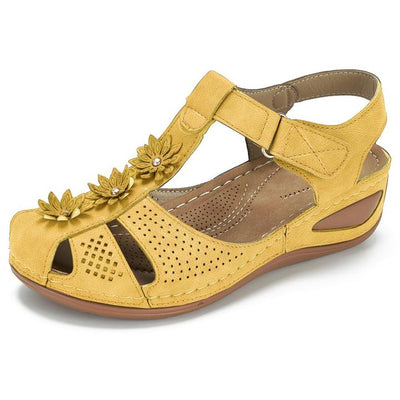 Women's Flower Hook Loop Casual Fisherman Sandals