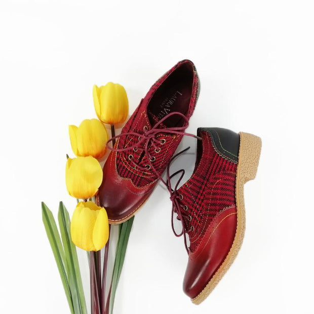 134001 LAURA VITA COCRALIEO 03 Retro Genuine Leather Handmade PAINTED Original Comfortable shoes