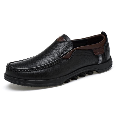 Business Formal Men Shoes Male Loafers Genuine Leather Comfortable Casual Boat Walking Driving Shoes 133680