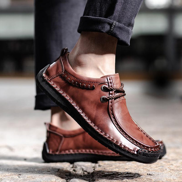 Men's leather shoes high quality casual shoes