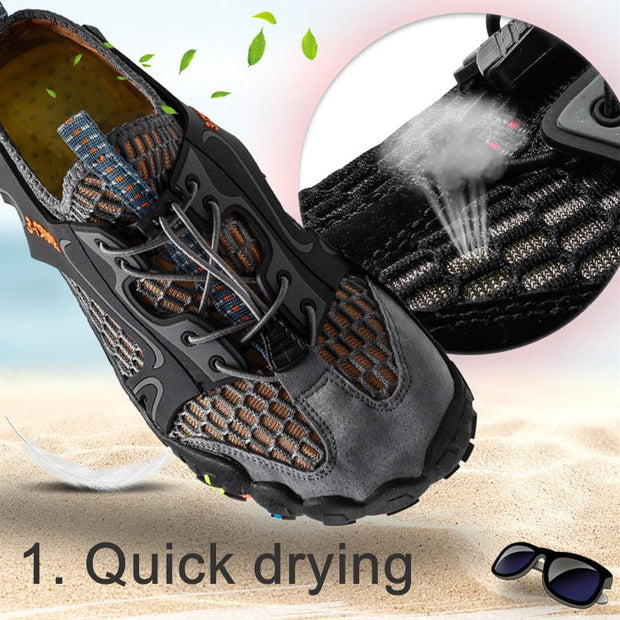 Women's Summer Quick Drying Five-finger Hiking Swimming Shoes