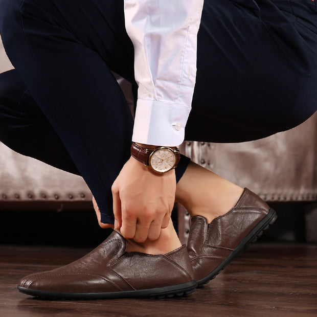 Men's Fashion Casual Leather Shoes
