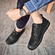 New men's casual leather handmade shoes