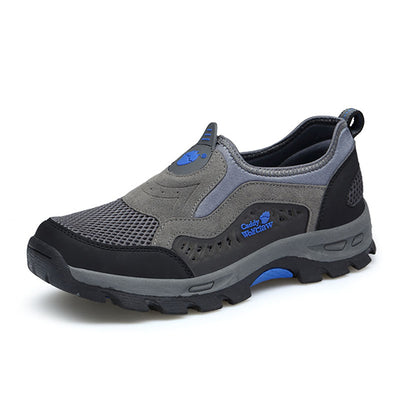 135562 Men's summer and autumn a pedal outdoor leisure mesh breathable hiking walking shoes