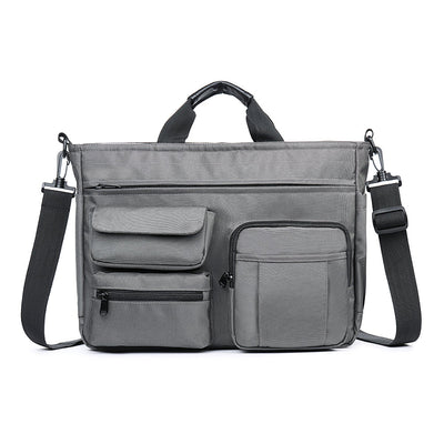 Men's Nylon Multi-pocket Computer Business Handbag