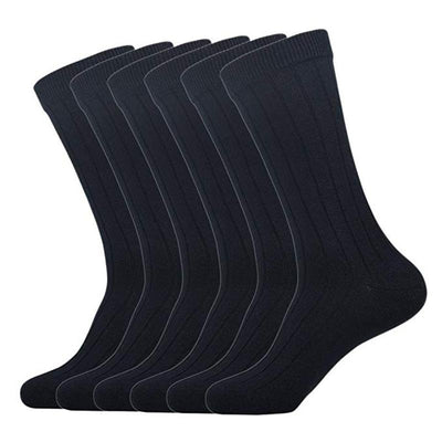 Men Outlast Hand Linking Cotton Dress Over-The-Knee Socks