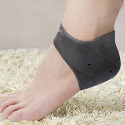 Women Compression Heel Sleeves Socks Foot Ankle Pain Relief for Plantar Fasciitis Spurs Pads Cracked Heel 3 / 6 / 9 Pairs