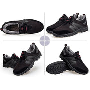 137226  Men's plus velvet sneakers set foot warm old shoes