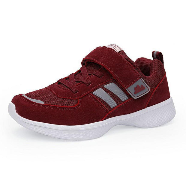 Women's Cloth Suede Mesh Breathable Lightweight Sneakers