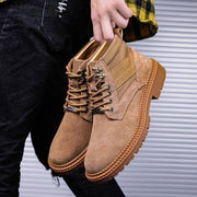 Men's New War Wore Breathable High-Top Tooling Tide Shoes
