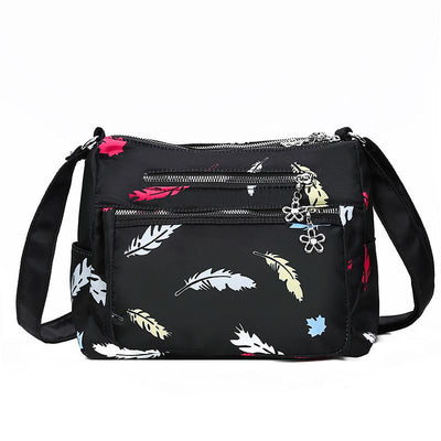 Women's New Fashion Print Wild Oxford Crossbody Shoulder Bag
