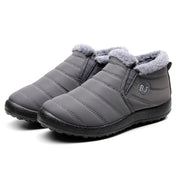 Winter warm cotton shoes soft bottom waterproof old Beijing cotton shoes Maokou two cotton handmade snow boots 35-47